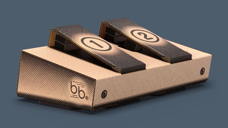 These Fully Functional, Environmentally Friendly MIDI Pedals are Made from Cardboard