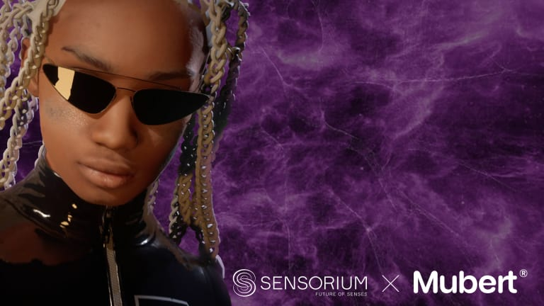 Sensorium Galaxy and Mubert Team Up to Launch First Performing AI DJ