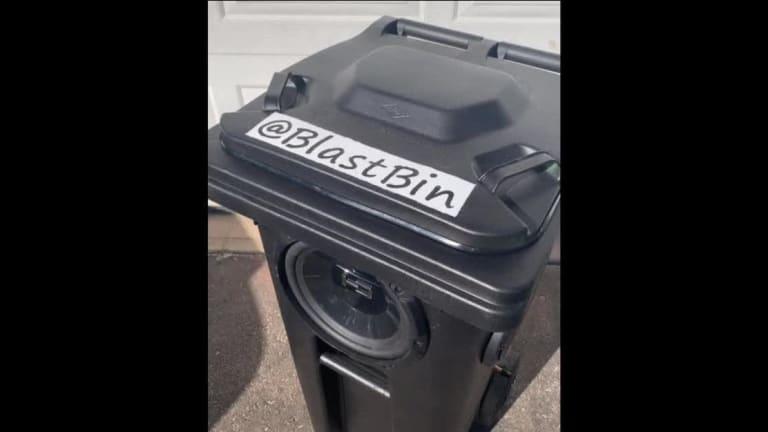 Viral TikTok Creator Engineers Trash Can into Insane Speaker System