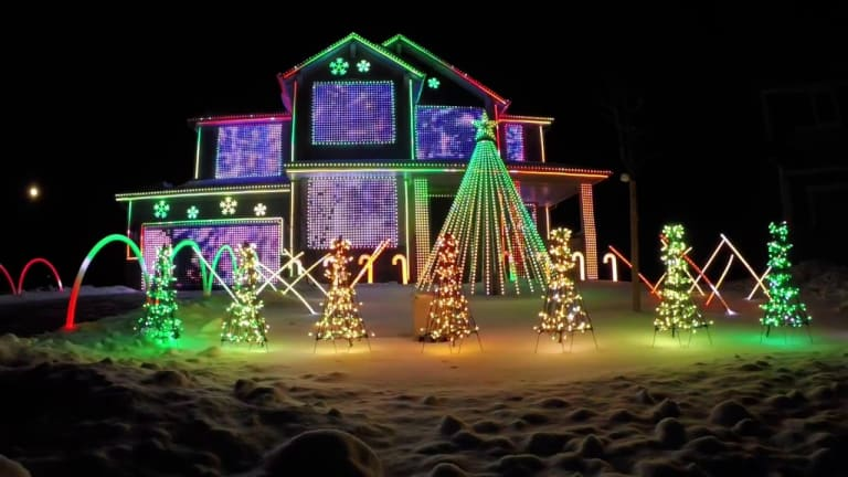 Here are 10 of the Most Outrageous EDM Christmas Light Shows