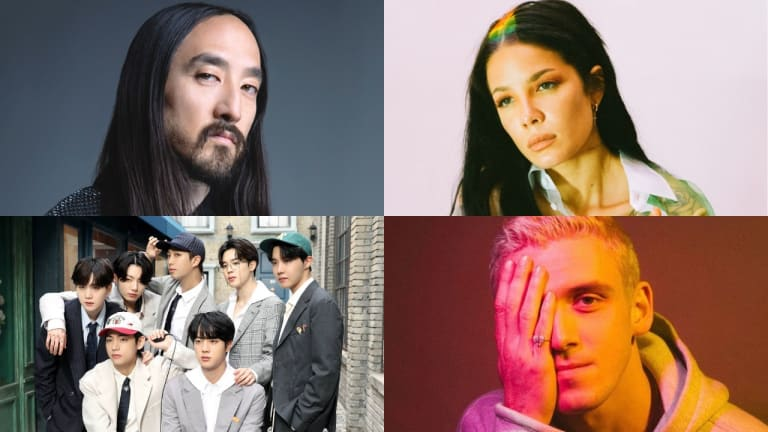 Steve Aoki, Halsey, and Lauv to Join BTS for New Year's Eve Streaming Event