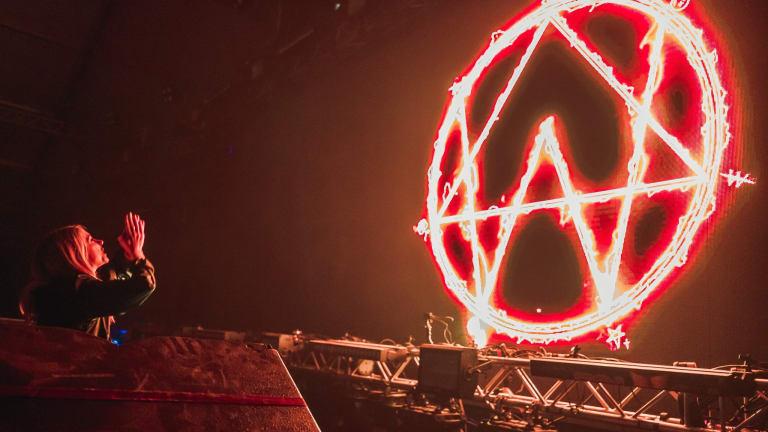 Watch Alison Wonderland Levitate In Eerie Red Rocks Performance Intro