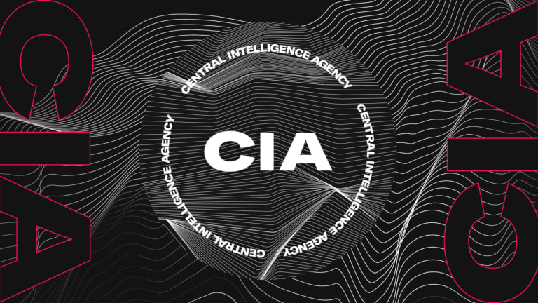 The New CIA Logo is Getting Roasted for Its Resemblance to a Rave Flyer