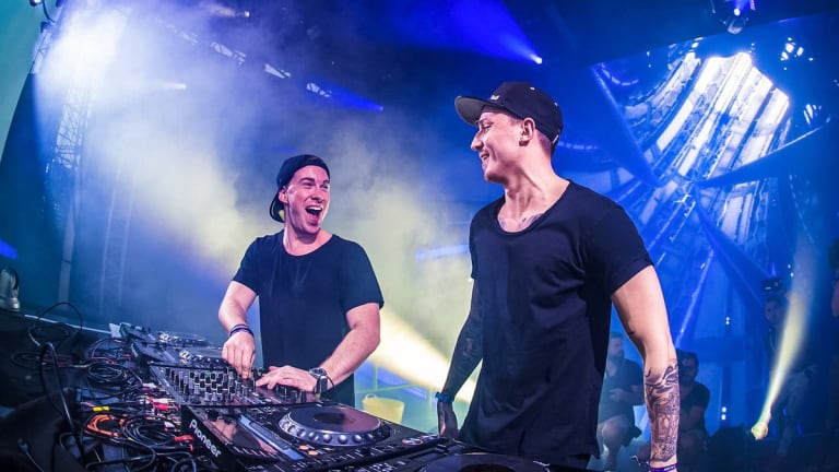 "Hardwell and Blasterjaxx's Long-Awaited ""Bootshaus ID"" Finally Hits Streaming Platforms"
