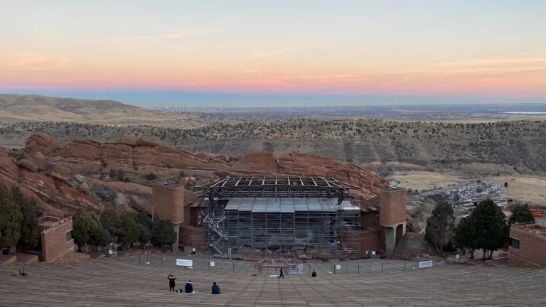 New Roof Built Over Red Rocks Amphitheatre Stage to Combat Weather Conditions