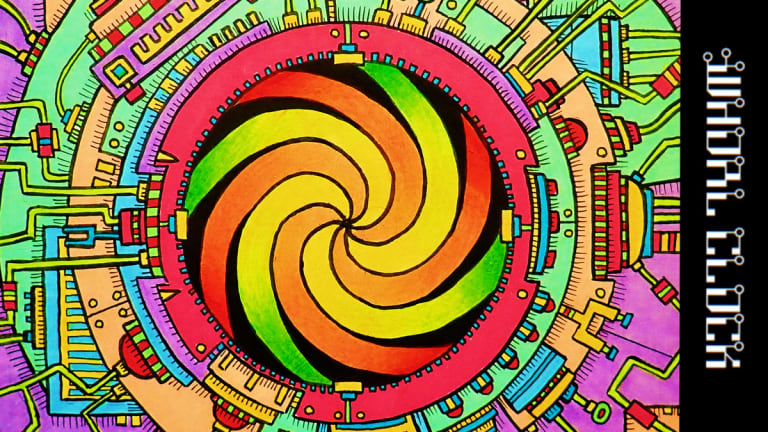 """Here is a Time Travel-Themed Electronic Music Album for Charity, """"Whorl Clock"""""""