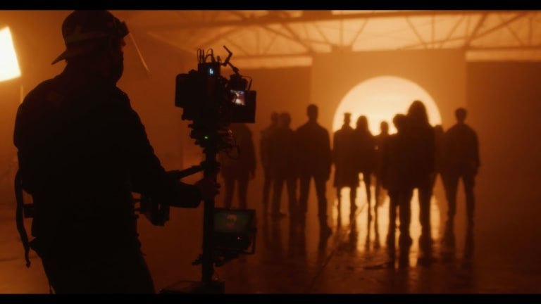 """Go Behind the Scenes of ILLENIUM, Dabin and Lights' """"Hearts On Fire"""" Music Video"""