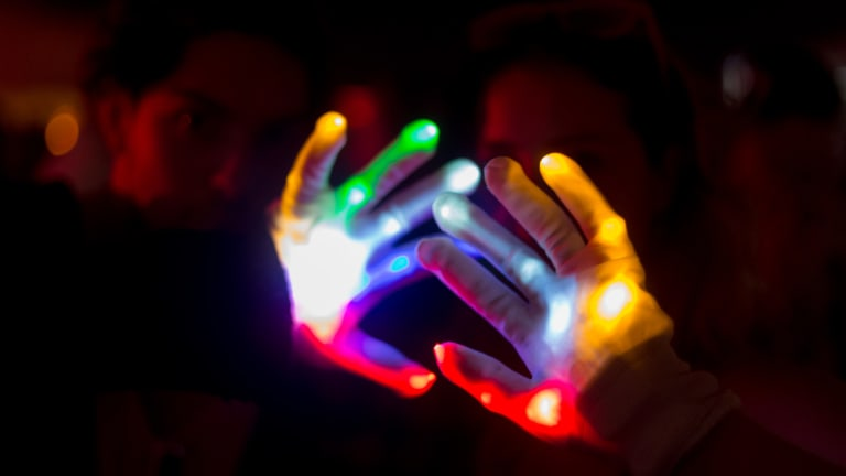 New Book Explores the Art of Gloving Light Shows
