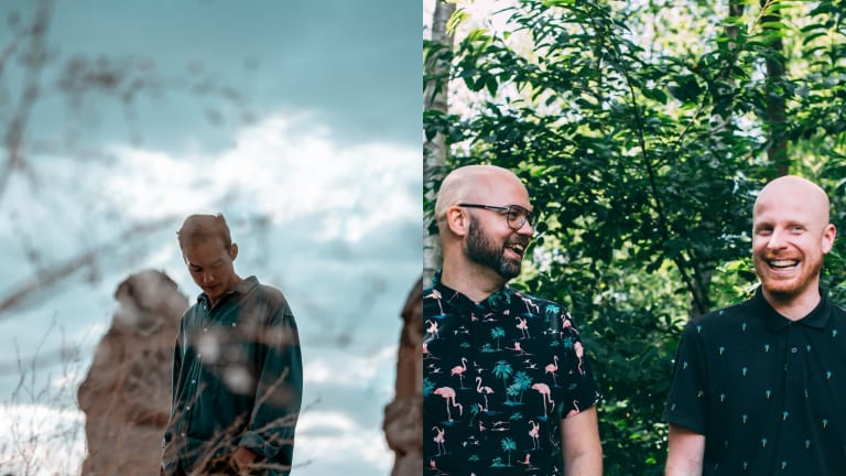 "Ben Böhmer and Tinlicker Craft Stirring Melodic House With ""Run Away"" on Anjunadeep"