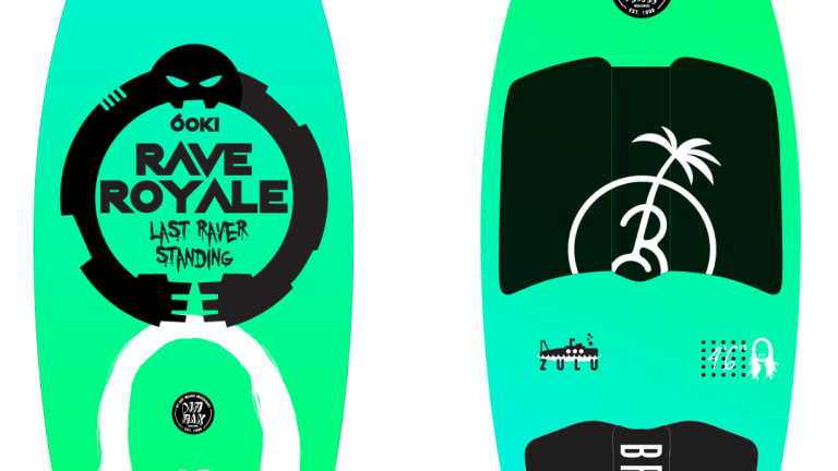 Win a Badass Limited Edition LED Wakesurf Board from Steve Aoki and Dim Mak Records