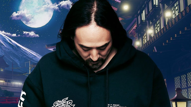 "Steve Aoki Releases Remix of ""Ryu's Theme"" from Street Fighter II"
