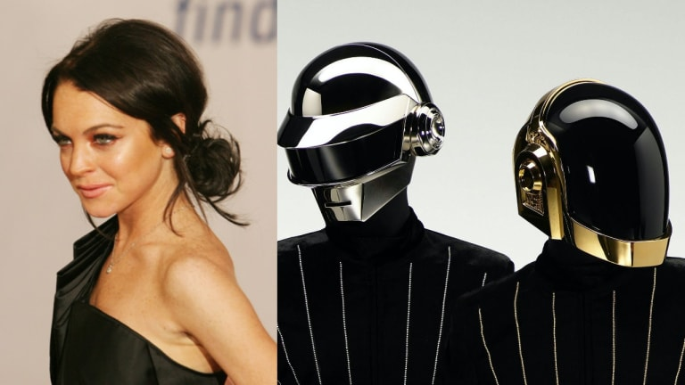 Lindsay Lohan is Selling a Daft Punk NFT for $15,000