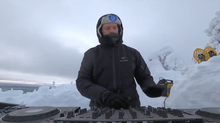 "Yotto Presents ""A Very Cold DJ Set"" from Lapland's Frosted Hills"