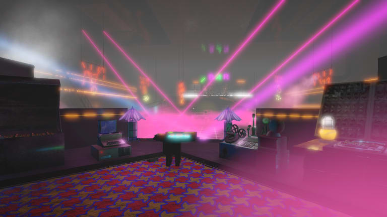 "Explore a Cyberpunk Club in the New Video Game ""Isolationist Nightclub Simulator"""