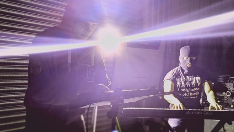 """Synthwave Duo MKMO Drops Eerie Debut Album, """"Agitprop"""""""