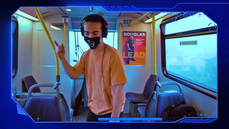 Vancouver DJ Performs on Empty Train to Keep Local Music Scene Alive During Pandemic