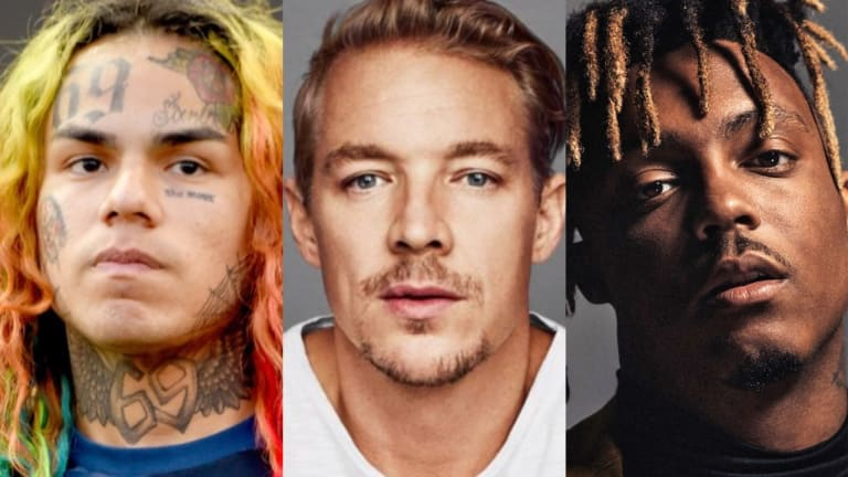 Diplo Says He Has Unreleased Music with 6ix9ine and Juice WRLD