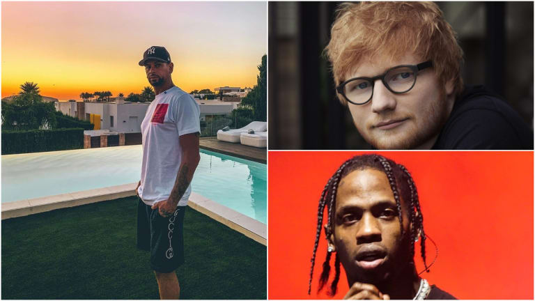 "MK Delivers House Remix of Ed Sheeran and Travis Scott's ""Antisocial"""