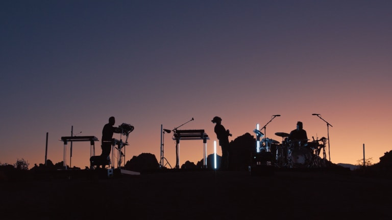 RÜFÜS DU SOL to Premiere Immersive Concert Recording, Live from Joshua Tree