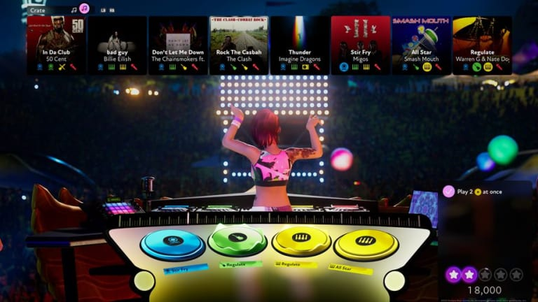 Harmonix's New Game, Fuser, Gives Everyone the Chance to Become a Festival DJ