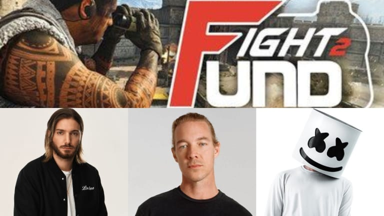 Alesso, Diplo, and Marshmello Join FaZe Clan's #Fight2Fund for COVID-19