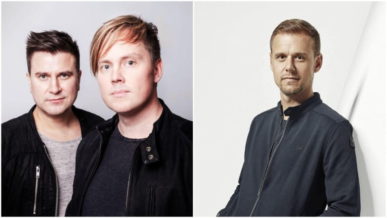 "Super8 & Tab and Armin van Buuren Join Forces on ""Leka"""