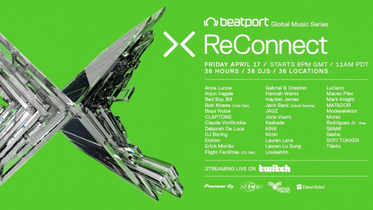 Beatport Reconnect II Stream Is Now Live