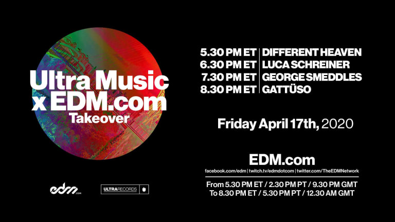 Ultra Music X EDM.com Live Stream Takeover