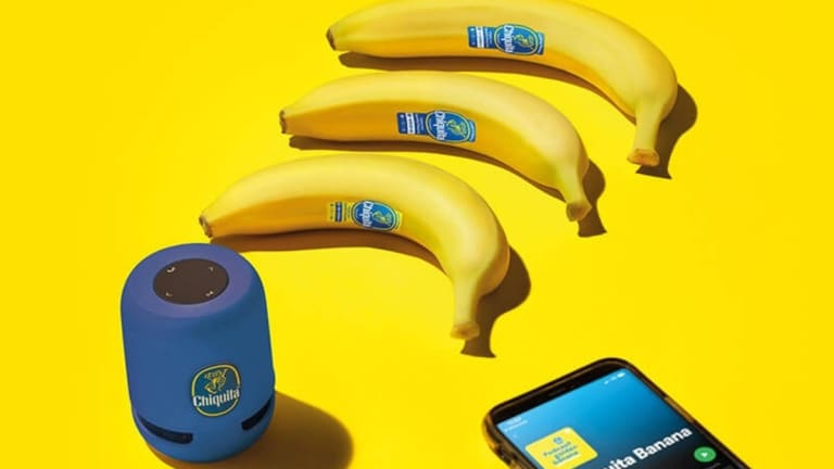 You Can Now Scan Bananas to Listen to Spotify Playlists