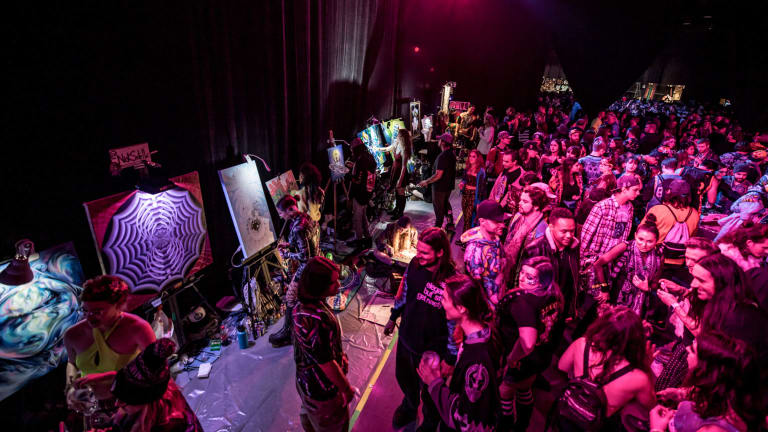 Bassnectar Hosts #EmpathyArt Fundraiser Gallery for COVID-19 Relief