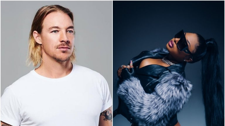 Diplo Jumped Into a River In His Boxers On a Dare from Megan Thee Stallion