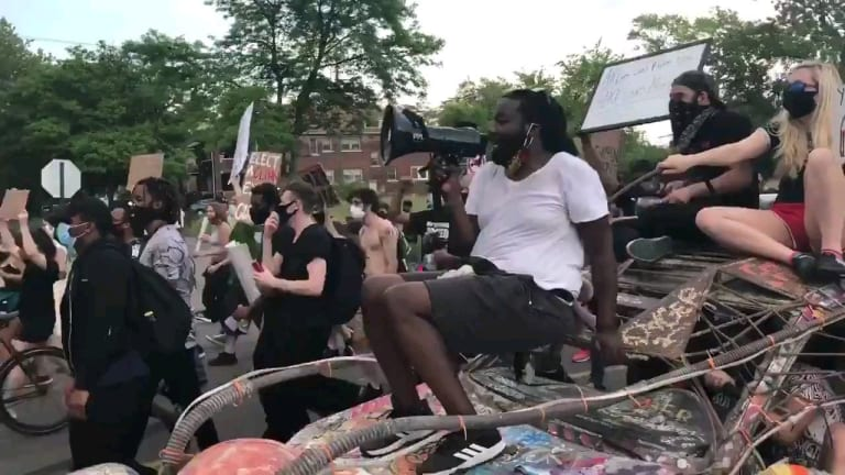 Watch Protesters Chant to a Dirtybird Song in Detroit, the Birthplace of House Music
