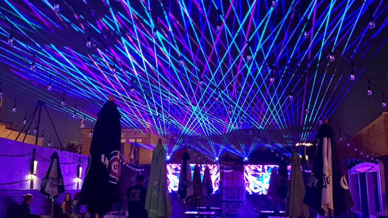 This Chicago Rooftop Bar is Hosting Laser Shows from the Minds Behind Illenium, Porter Robinson Concerts