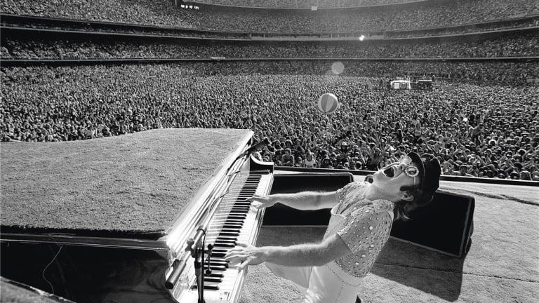 Elton John Discusses Love of Electronic Music, Kraftwerk on Apple Music's Rocket Hour