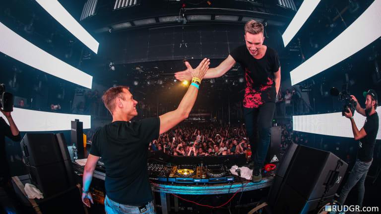 Armin van Buuren and Nicky Romero are DJing a Virtual B2B Set