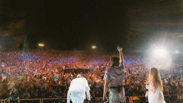 """Flume Is Livestreaming a Rebroadcast of 2019 """"Flume & Friends"""" Red Rocks Show on Thursday"""