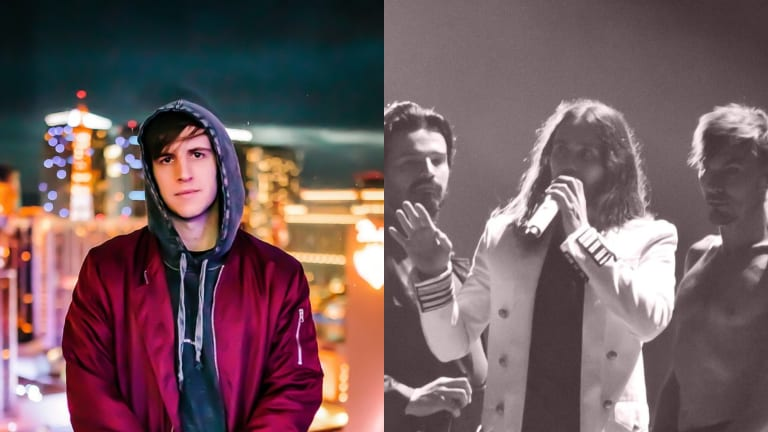 Watch ILLENIUM Debut Unreleased Collab With 30 Seconds to Mars