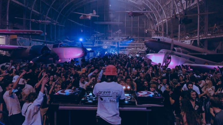 Look Inside a Rave at an Aviation Museum in Brussels