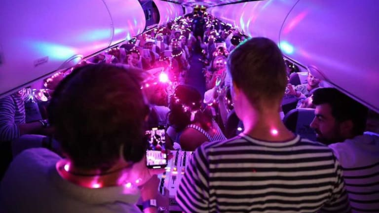 Watch This DJ Perform for 192 Passengers at Rave Aboard International Flight