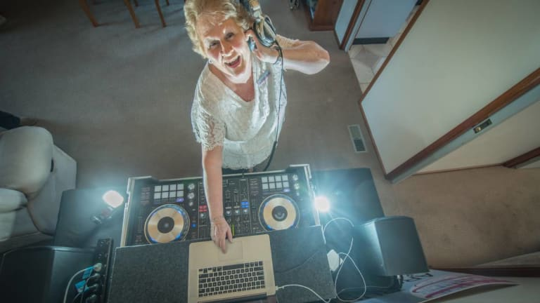 This Viral DJing Grandma Brings the Heat On the Decks
