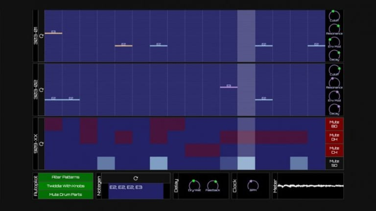 New Browser-Based Beat Maker Lets You Create Algorithmic Acid House in Real-Time