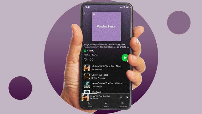 Spotify Launched a Vaccination Playlist—Here's Why That's a Little Weird