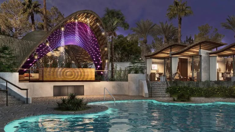 New Mykonos-Inspired Élia Beach Club Set to Open in Las Vegas This Summer