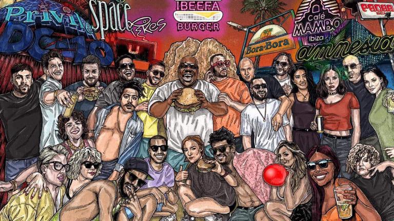 "Dance Music-Themed Burger Restaurant ""IBEEFA Burger"" Hits Ibiza"