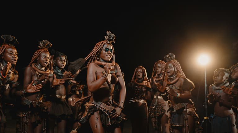 Watch the Indigenous Namibian Himba Tribe Experience Raves for the Very First Time