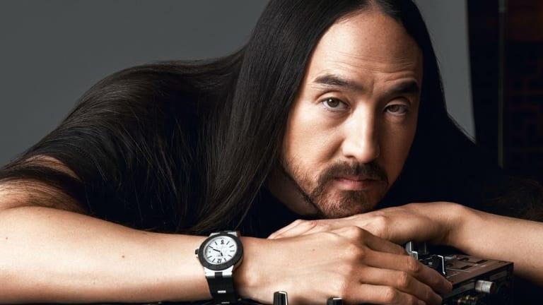 Steve Aoki and Bulgari Launch New Luxury Watch Collab