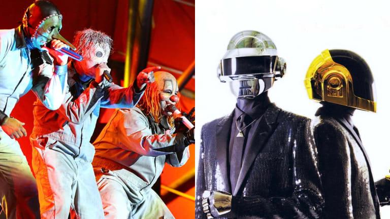 This Ridiculous Slipknot vs. Daft Punk Mashup Actually Works