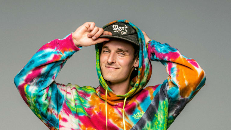"GRiZ's Dubstep-Inspired 7th Album ""Rainbow Brain"" Is His Heaviest Yet: Listen"
