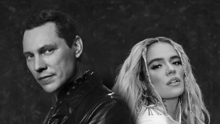 """Listen to a Preview of Tiësto's Single With Reggaeton Superstar Karol G, """"Don't Be Shy"""""""