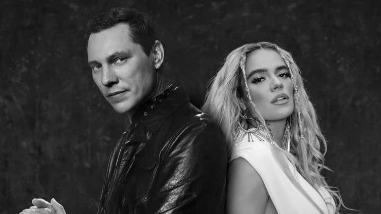 """Tiësto and Karol G Team Up for Easygoing Summer Anthem, """"Don't Be Shy"""""""